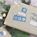 Weihnachtsgeschenke kreativ und schön einpacken.